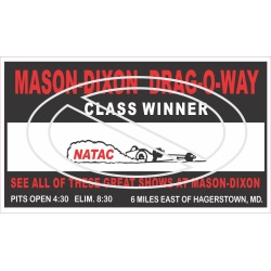 Mason-Dixon Drag-O-Way Class Winner