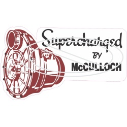 Supercharged By McCulloch