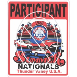 Summer Nationals 1980 IHRA Thunder Valley Participant