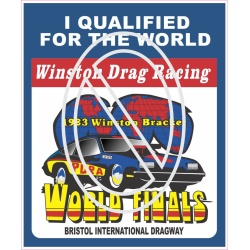 Winston World Finals 1983 Bristol International Dragway Qualified