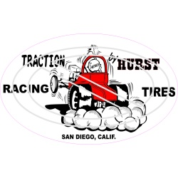 Traction By Hurst Racing Tires San Diego, CA.