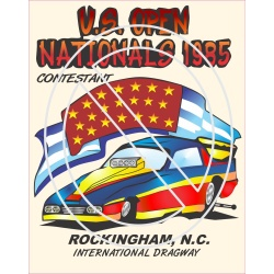 U.S. Open Nationals 1985 Rockingham Contestant